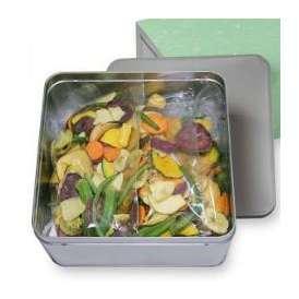 豆徳 17品目の野菜果物チップス 510g(170g×3袋入) 送料無料