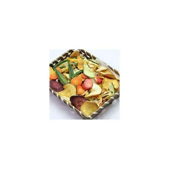 豆徳 17品目の野菜果物チップス 510g(170g×3袋入) 送料無料02