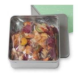 豆徳 7品目の国産野菜果物チップス 510g(170g×3袋入) 送料無料