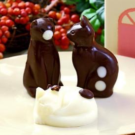 ねこチョコレート ネコチョコ 猫 3個 お家のギフト箱入り