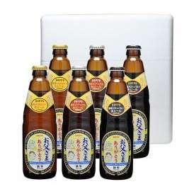 独歩(どっぽ)ビール 父の日ラベル 限定ギフトセット 330ml 6本詰合せ 岡山県宮下酒造 (麦酒,地ビール,クラフトビール,酒)