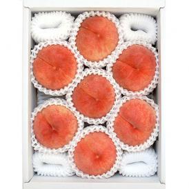 低農薬 特選桃 約2kg 6~8玉入り 桃 秀品 詰め合わせ 山梨県産