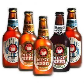 常陸野ネストビール 330ml 5本セット ひたちの クラフトビール 木内酒造