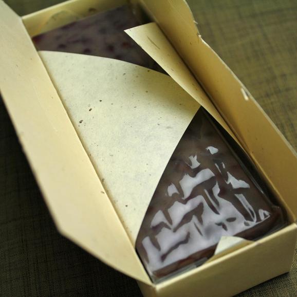 ハーバリウム 皇室献上菓子舗の羊羹 ようかん 紫珠 1本 送料無料 | 花 お菓子 和菓子05
