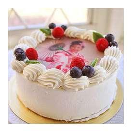 プリントデコレーションケーキ 生クリーム 5号サイズ 写真ケーキ お菓子