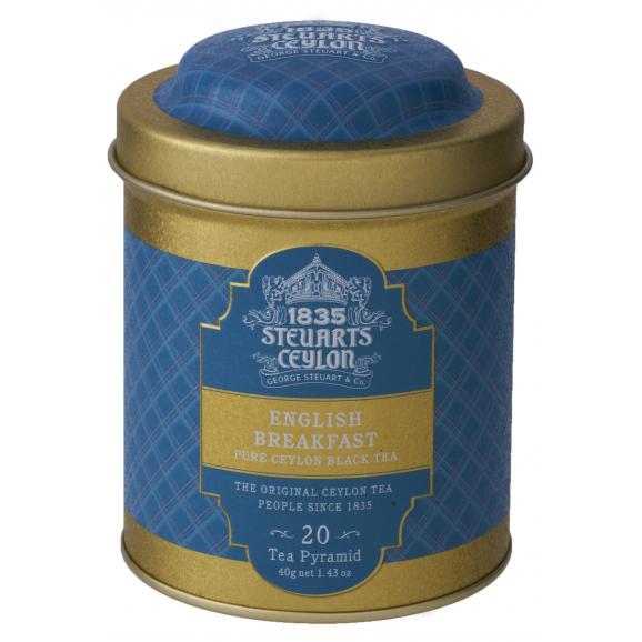 George Steuart トライアングルバッグ紅茶 2缶ギフト02