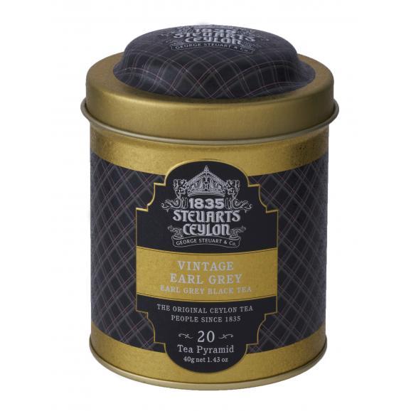 George Steuart トライアングルバッグ紅茶 2缶ギフト03