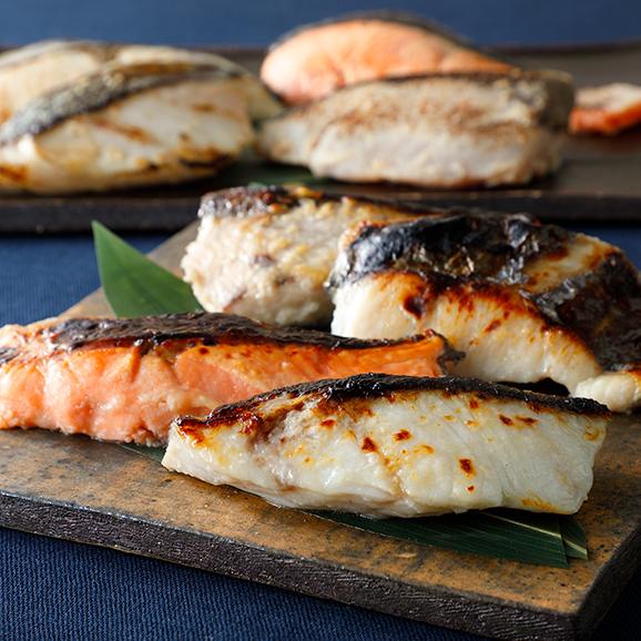 魚西京漬塩麴漬詰め合わせ01