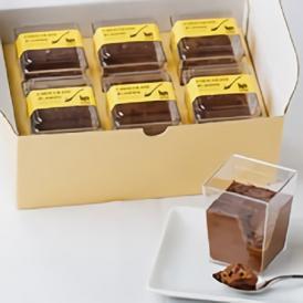 濃厚なチョコレートクリームとクルミの食感をお楽しみいただけるチョコプリンです。