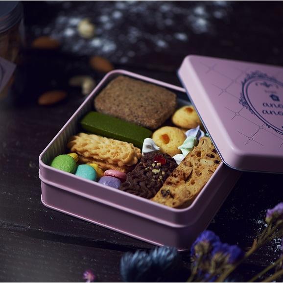 アノヒアノトキ オリジナルクッキー缶 8種入り01