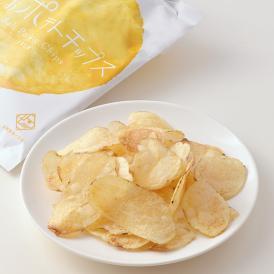 【奥能登しおポテトチップス(うすしお) 5個入り】 無添加 塩 菓子 じゃがいも