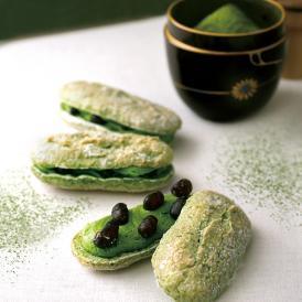 抹茶の極上の香りとほろ苦さの中に『和』の息吹をこめた新しいお菓子です。