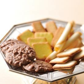 チョコレートをコーティングした冬季限定のチョコレートクッキーと味わい豊かなクッキーの詰め合わせ。