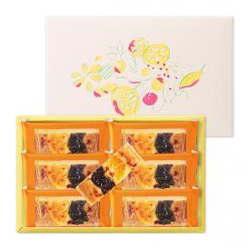 果実のタルト[季節限定・NEW] 6個入 【贈り物 内祝 ギフト 出産内祝 結婚御祝 贈答品 お中元 御中元】