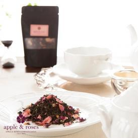 インドのアッサム茶葉に、ローズペタルをブレンド。香料無添加の優しいオリジナルティー