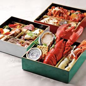 オマール海老やアワビ、キャビアといった食材に加え、お酒好きにはうってつけ!!