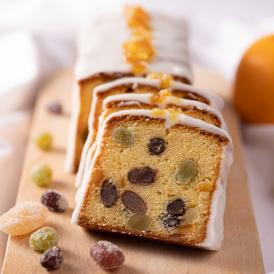 料理家 栗原心平さんコラボ商品!!甘納豆とオレンジのパウンドケーキ(2本入)