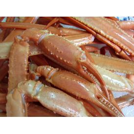 紅ずわい蟹ボイルポーション2.5kg(冷凍)殻付き