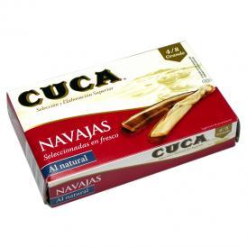 CUCA マテ貝の塩水漬け缶詰