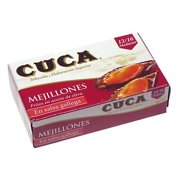 CUCA ムール貝のガリシアソース漬け缶詰(大)01