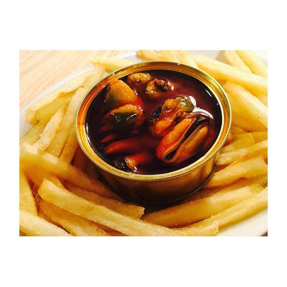 CUCA ムール貝のガリシアソース漬け缶詰(大)02