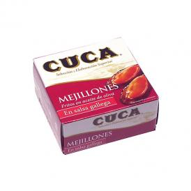 CUCA ムール貝のガリシアソース漬け缶詰(小)