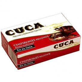 CUCA ヤリイカのイカスミ漬け缶詰