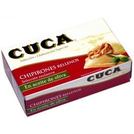 【セール対象品】 CUCA ヤリイカのオリーブオイル漬け缶詰(賞味期限2021年12月末)