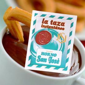 とろーり甘くて濃厚!温めた牛乳に溶かすだけ。 スペインの定番、お手軽ホットチョコレート