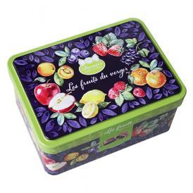 バルニエール フルーツフィルキャンディ 100g缶