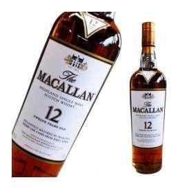 スコッチウイスキー マッカラン 12年