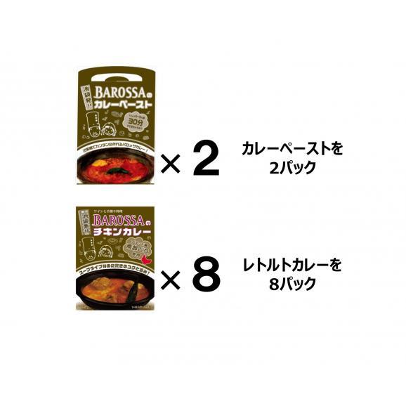 【送料無料!】東京・池袋のレストラン『バロッサ』の2種セット(ペースト2&レトルト8)01