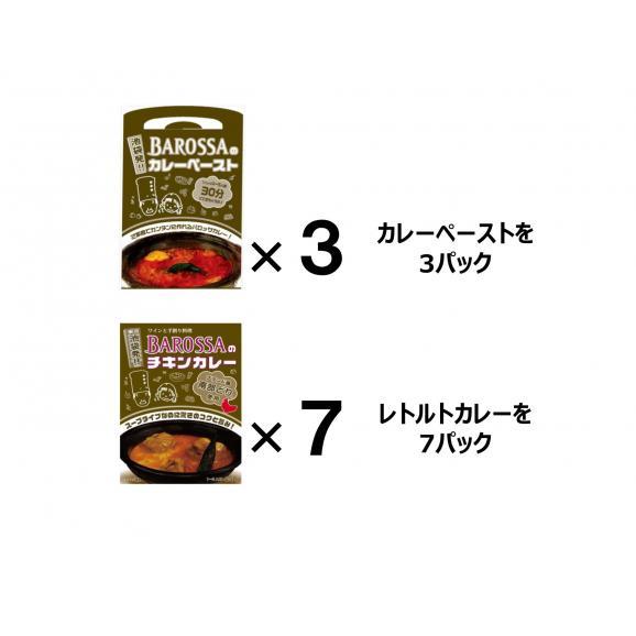 【送料無料!】東京・池袋のレストラン『バロッサ』の2種セット(ペースト3&レトルト7)01