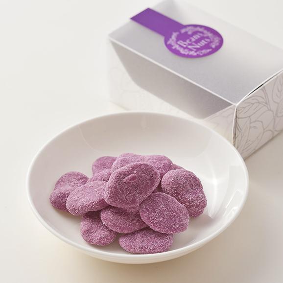 紫いもとそら豆のコンフェティ/コフレ 03