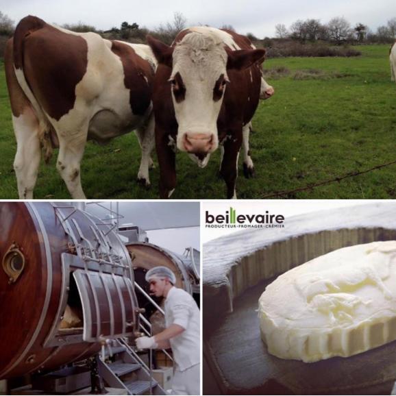 ベイユヴェール  beillevaire 発酵バター125g 食塩不使用03