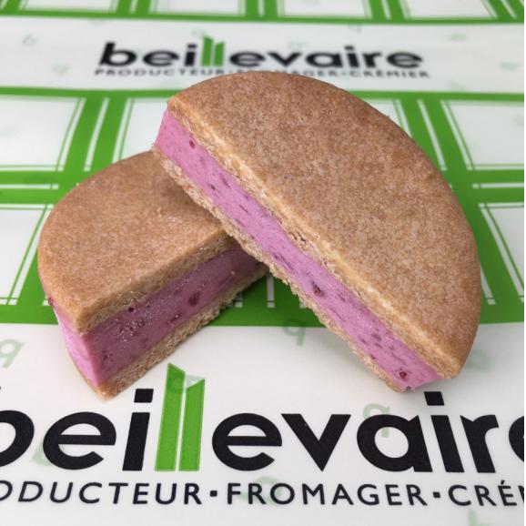 夏限定!パリで人気の高級バター&チーズメゾン beillevaire(ベイユヴェール) 新感覚アイスフロマージュサンド 【サンド グラッセ フロマージュ】6個詰め合わせ 04