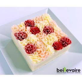 美食の都パリの5つ星ホテルやミシュランスターシェフたちからも人気が高くフランスを代表する食のプロ御用達フロマジュリー ベイユヴェール(beillevaire) ガトー・オ・ブーケ 『ロゼ』