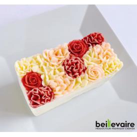 美食の都パリの5つ星ホテルやミシュランスターシェフたちからも人気が高くフランスを代表する食のプロ御用達フロマジュリー ベイユヴェール(beillevaire)ガトー・オ・ブーケ『 ロゼ ハーフ』