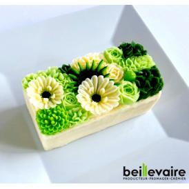 美食の都パリの5つ星ホテルやミシュランスターシェフたちからも人気が高くフランスを代表する食のプロ御用達フロマジュリー ベイユヴェール(beillevaire)ガトー・オ・ブーケ 『ヴェール ハーフ』