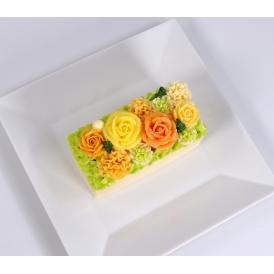 美食の都パリの5つ星ホテルやミシュランスターシェフたちからも人気が高くフランスを代表する食のプロ御用達フロマジュリー ベイユヴェール(beillevaire)ガトー・オ・ブーケ『 オランジュ ハーフ』