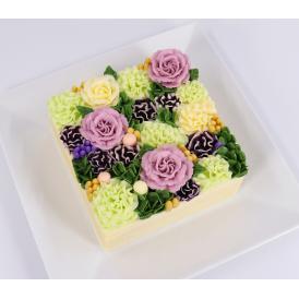 フラワーケーキ 花ケーキ お誕生日ケーキ クリスマス インスタ映え お取り寄せスイーツ 贈り物