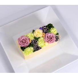 美食の都パリの5つ星ホテルやミシュランスターシェフたちからも人気が高くフランスを代表する食のプロ御用達フロマジュリー ベイユヴェール(beillevaire)ガトー・オ・ブーケ 『モーヴ ハーフ』