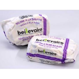 ベイユヴェール beillevaire 海藻バター125g 発酵バター