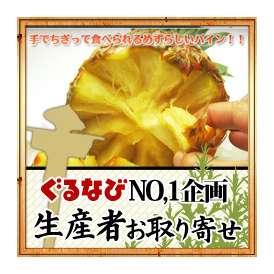 スナックパイン約4キロ (5〜8個程度) サイズはバラバラです。