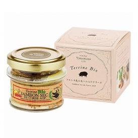 フランスで最高級品とされるコルシカ島の豚の旨味を凝縮した濃厚なテリーヌです!