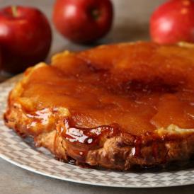 麻布十番のフレンチレストラン釜津田が作る『究極のタルトタタン』(アップルパイ)(1ホール)