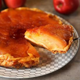 麻布十番のフレンチレストラン釜津田が作る『究極のタルトタタン』(アップルパイ)(木箱入)