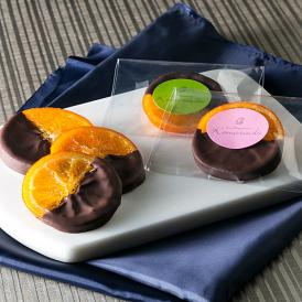 ショコラとオレンジの酸味のマリアージュ