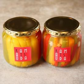 能登島の赤土有機野菜を作っている高農園さんから直接届いた新鮮な有機野菜を多種類使用しました。