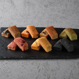 麻布十番にあるレストラン釜津田の本格派フレンチシェフが考案する新作メニュー「畑のフィナンシェ」。